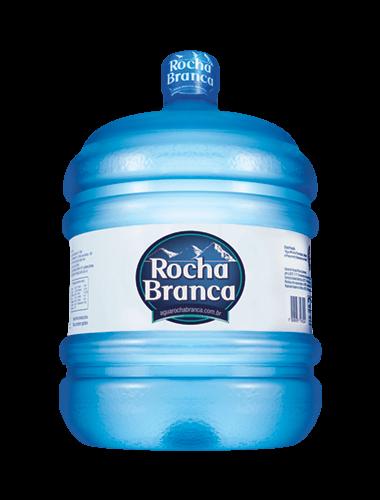 Galão de 10 litros de água mineral Rocha Branca