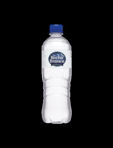 Garrafa de 310 ML de água mineral Água Rocha Branca