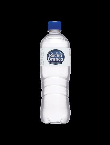 Garrafa de 510 Ml de água mineral Água Rocha Branca